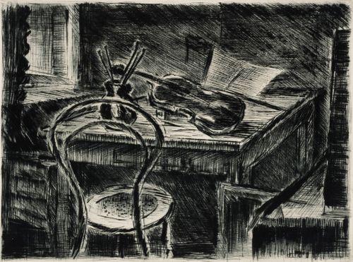 Taiteilijan nurkkapöytä
