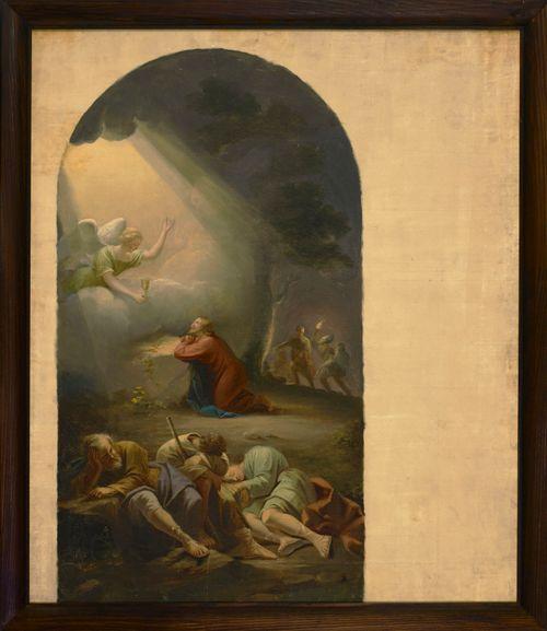 Getsemanen rukous, Kymin kirkon alttaritaulun luonnos