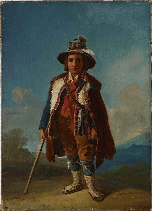 Italialainen poika, kopio R.W. Ekmanin mukaan