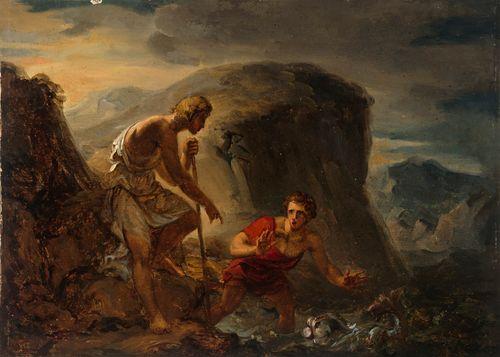 Tobiaan tarina, Tobias ja enkeli pyydystävät kalan