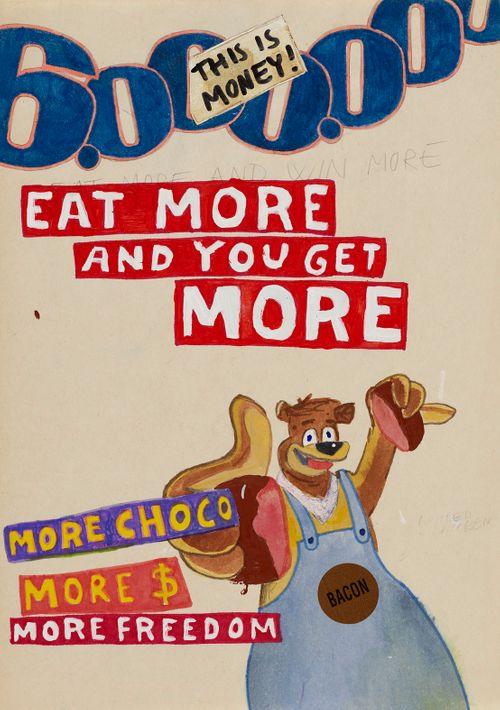 Syö enemmän ja saat enemmän