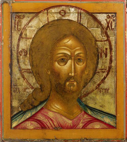 Kristus - Tulinen katse, venäläinen ikoni
