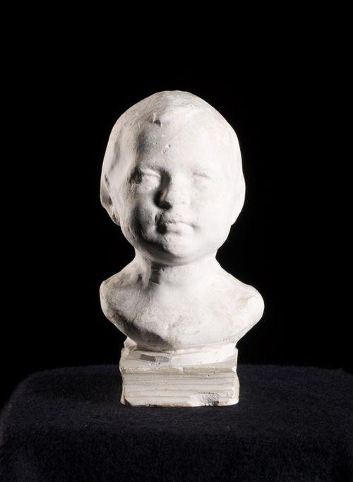 Lapsen pää, taiteilijan tytär Melina