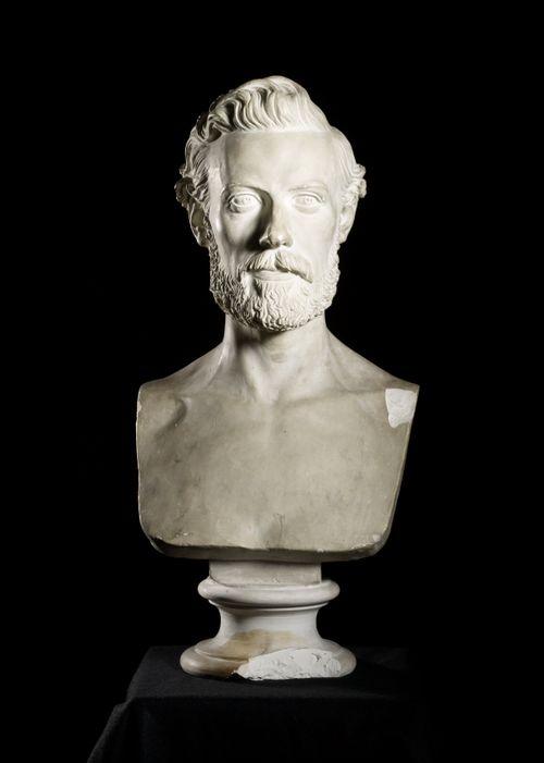 Kielentutkija Vilhelm Thomsenin rintakuva