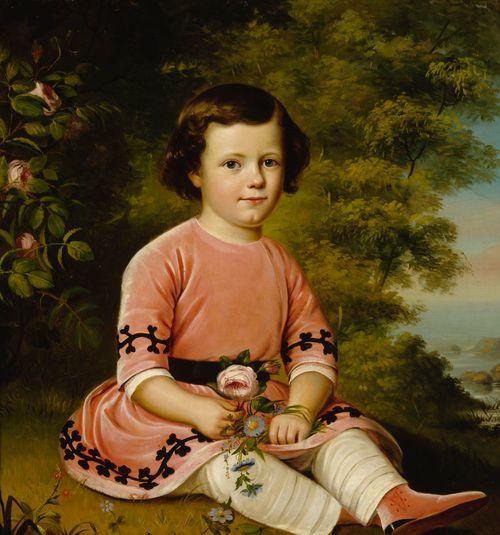 Frans Maexmontan lapsena