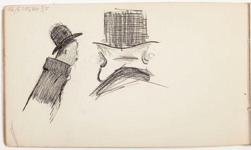 Hattupäinen mies, Silinteripäinen mies