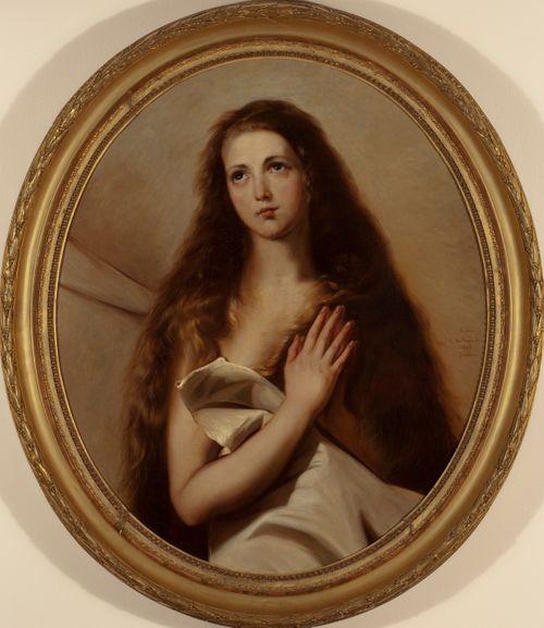 Pyhä Agnes, kopio Jusepe de Riberan mukaan, osa
