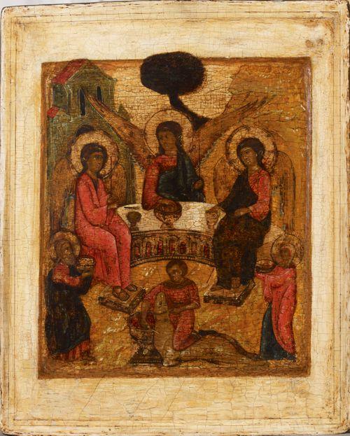 Pyhä Kolminaisuus, venäläinen ikoni