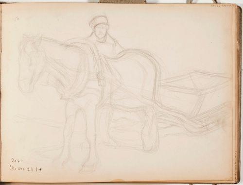 Hevonen, reki, ajomies