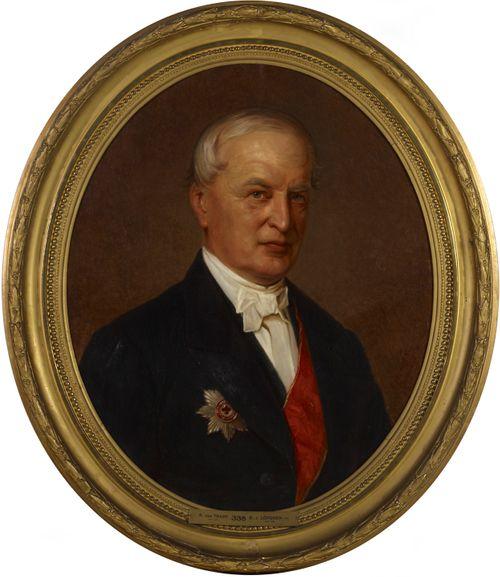 Salaneuvos Robert von Trappin muotokuva