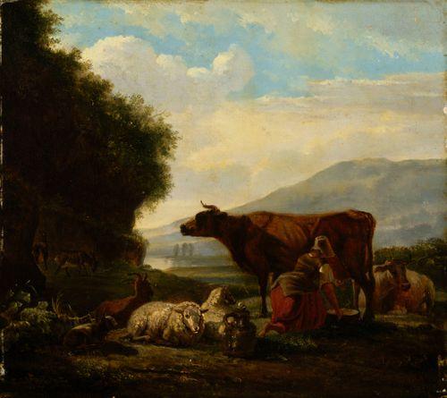 Lehmiä lypsetään