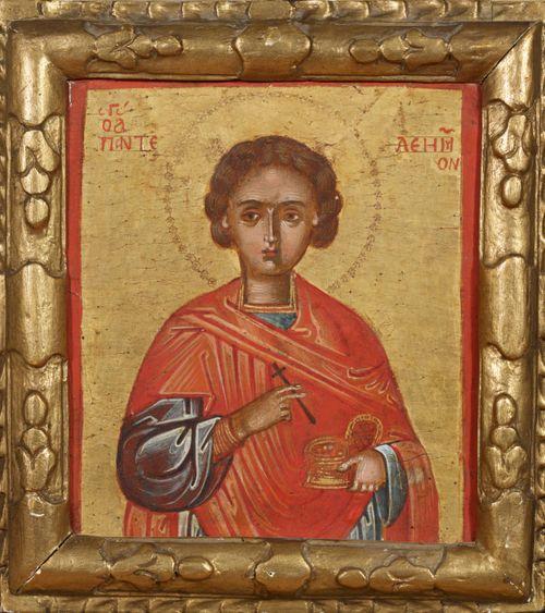 Pyhä Panteleimon, kreetalainen ikoni