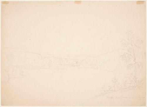 Järvimaisema Tammelasta, näkymä Kaukolanharjulta