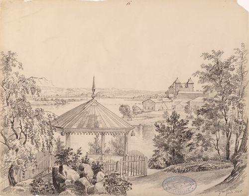 Hämeen linna Pyövelinmäeltä nähtynä