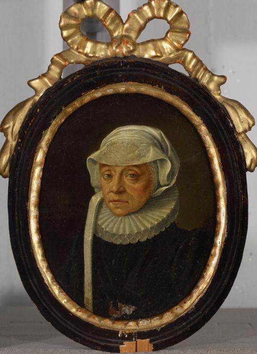 57-vuotiaan naisen muotokuva