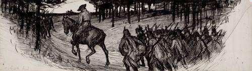 """""""Möttönen noin ratsasti"""", Otto von Fieandt -runon loppuvinjetti"""