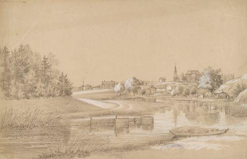 Snappertunan kirkko ja kylää
