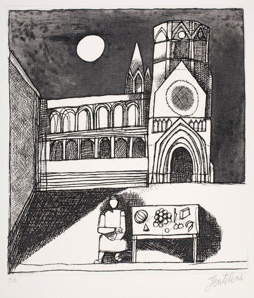 Katedraali kuun valossa