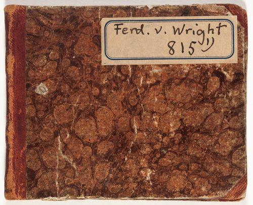 Luonnoskirja, 8-vuotiaan Ferdinand von Wrightin lintukuvia