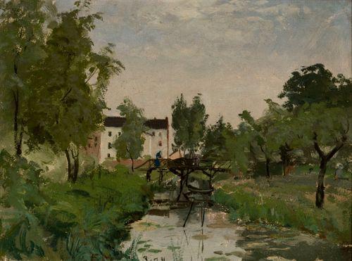 Landscape from Düsseldorf