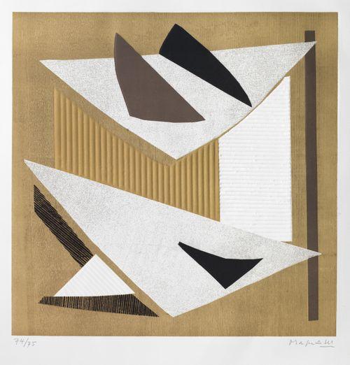 """Salkusta """"I Collages di Magnelli"""", nro 2"""