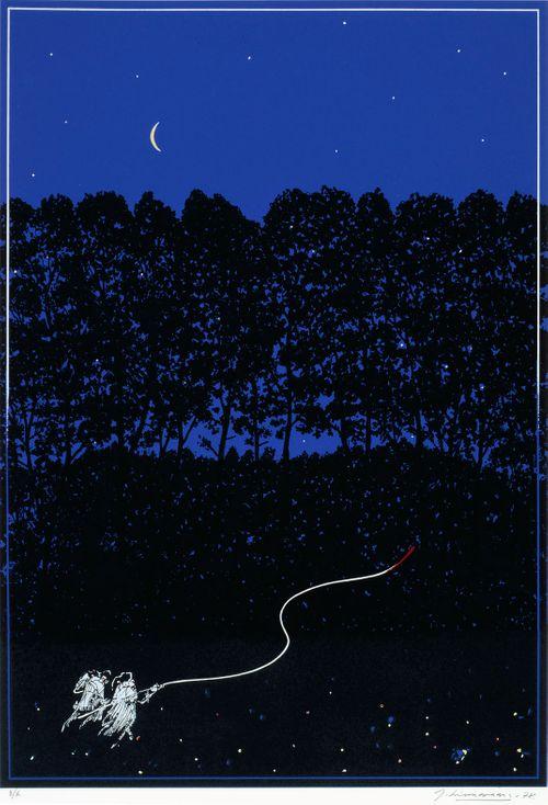 """""""Onnen tunne on himmeä polku metsän läpi..."""" Eeva-Liisa Manner, runokokoelmasta: Fahrenheit 121, Tammi 1968"""
