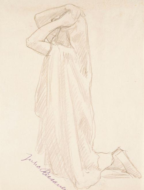 Polvistunut nainen, tutkielma Nilsiän kirkon alttaritauluun