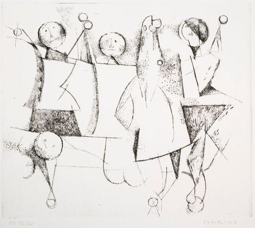 Harlekiinien leikki (kuva XV)