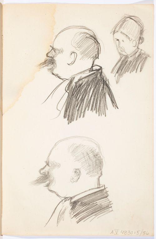 Kaksi tutkielmaa miehen profiilista, Naisen kasvot