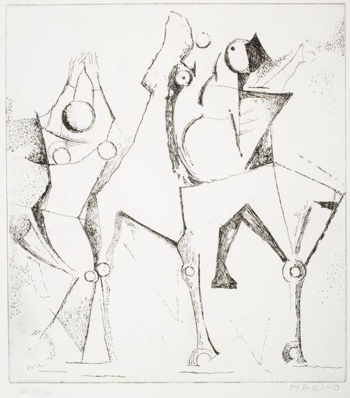 Onnellinen kolmikko (kuva XVII)
