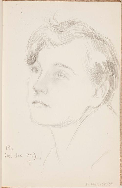Laura, taiteilijan tytär, aviol. Kolehmainen. Todennäköisesti n. 1925-28.