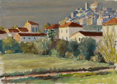 Kaupunkikuva Cagnesista