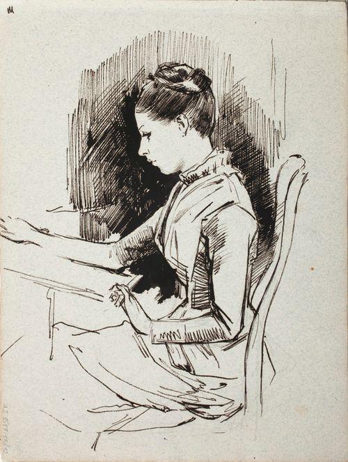 Annie Edelfelt, taiteilijan sisar