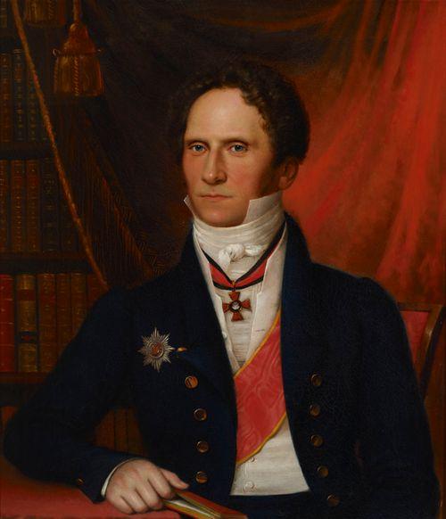Vapaaherra Karl Walleenin muotokuva
