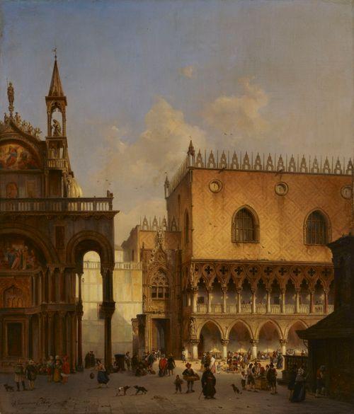 Venetsian St. Marcon aukiolla