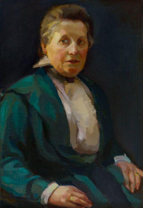 Taiteilijan äidin muotokuva
