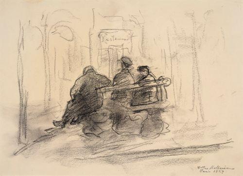 Pariisilaistyyppejä bulevardin penkillä