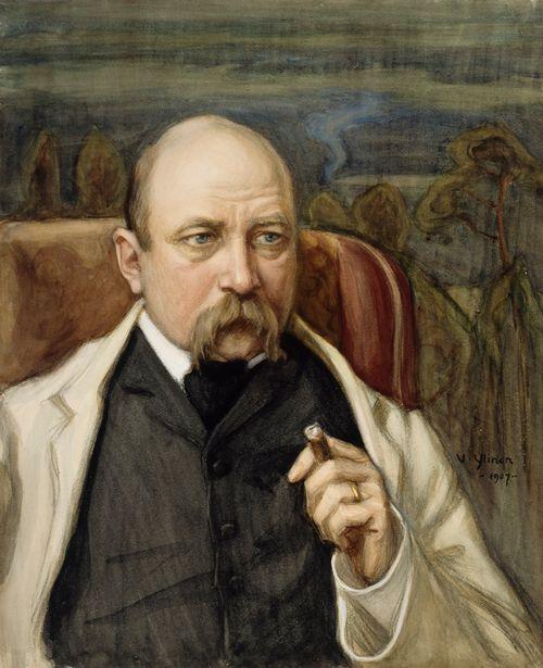 Viktor Westerholmin muotokuva