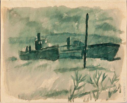 Veneitä satamassa