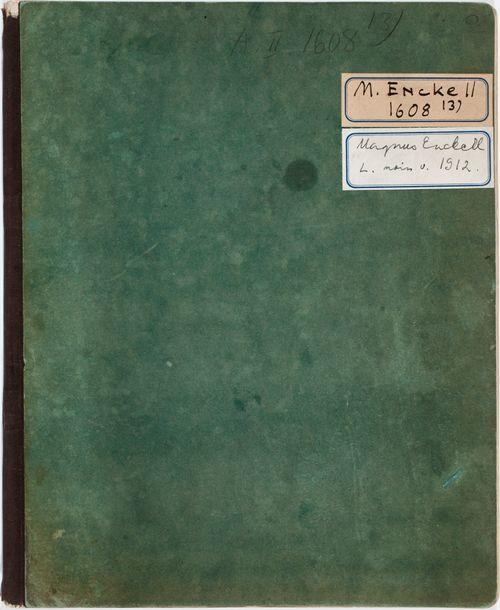 Luonnoskirja, noin 1912