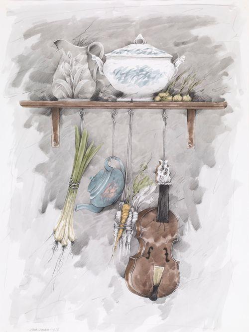 Viulunsoittajan keittiö