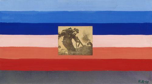 Luonnos Yhdysvaltain lipuksi 1; Alastonmaalaus