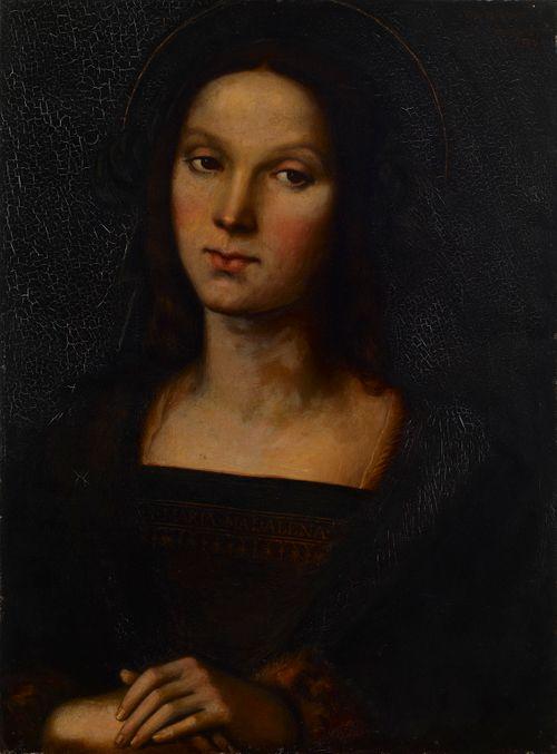 Maria Magdaleena, kopio Pietro Peruginon mukaan