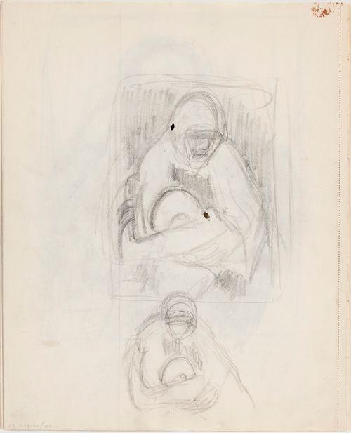Luonnoksia maalaukseen Äiti ja lapsi (Pietà)