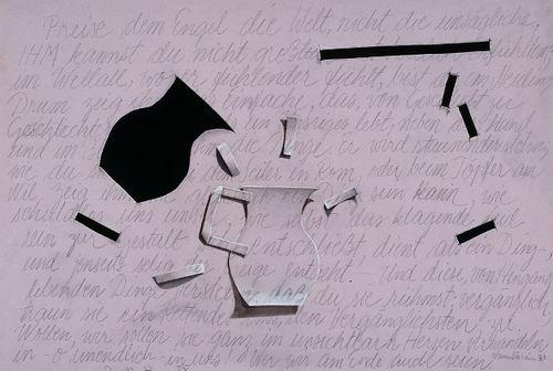 Enkelille siis ylistä maailmaa (sarjasta R.M.Rilken runoihin)