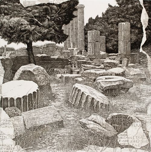 Ajasta, antiikin kivien päällä