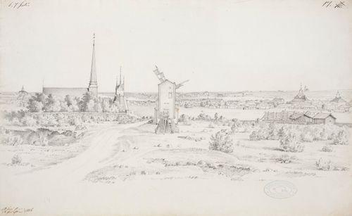 Tornion kirkko ja kaupunkia