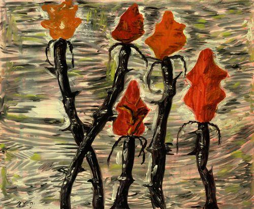 Viisi ruusua