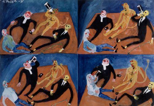 Sarjasta Piru ja kuolema: Resignaatio