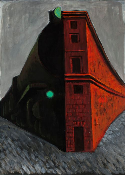 Punainen tiilitalo